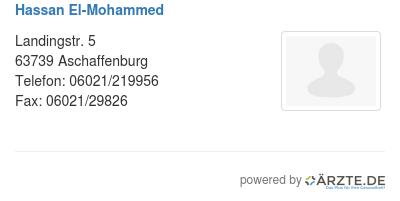 Hassan el mohammed