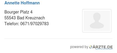 Annette hoffmann 578628
