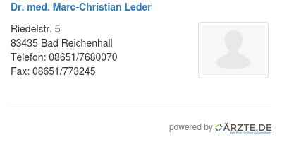 Dr med marc christian leder 579699