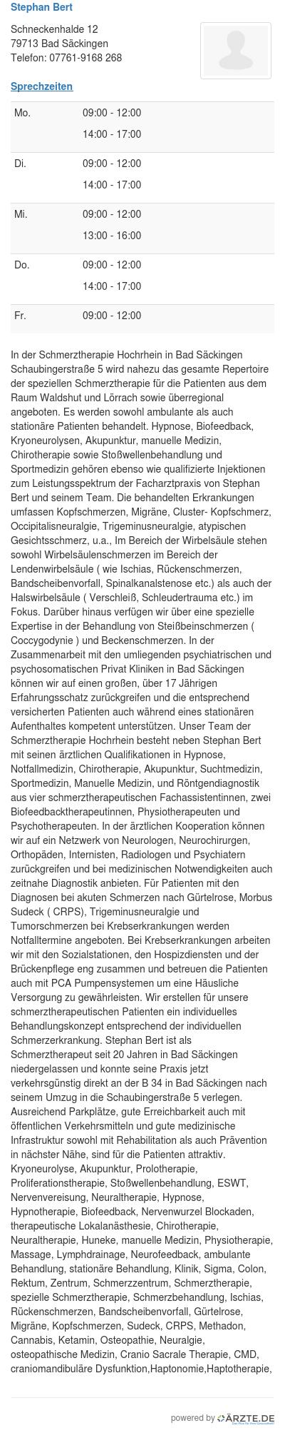 Stephan bert