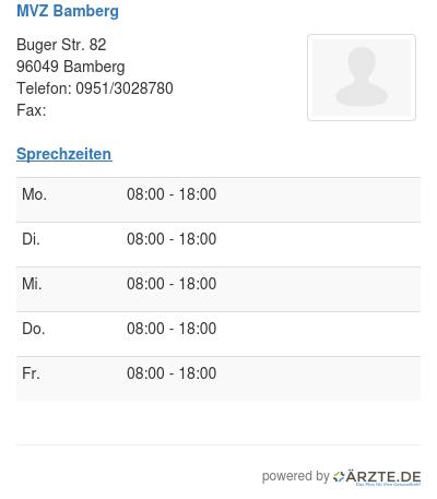 Mvz bamberg