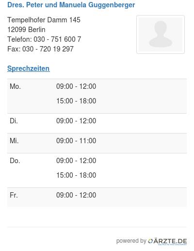 Dres peter und manuela guggenberger