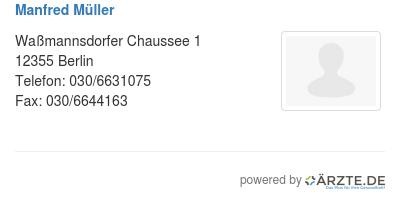 Manfred mueller 254132