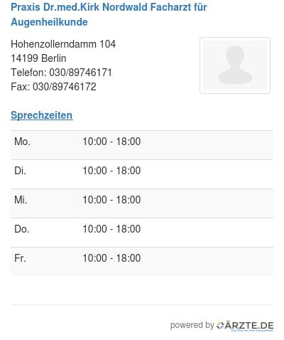 Praxis dr med kirk nordwald facharzt fuer augenheilkunde 514520