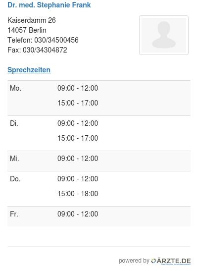 Praxis für Diabetologie in Berlin - Köpenick