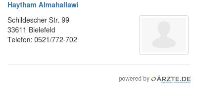 Haytham almahallawi