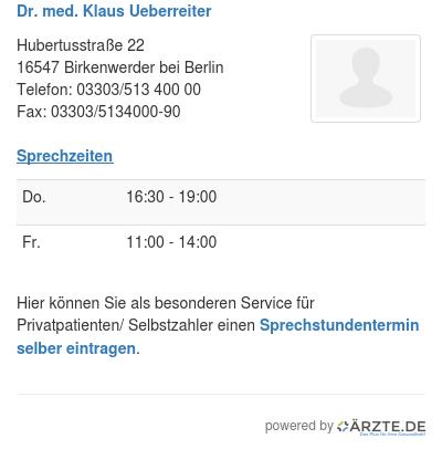 Dr med klaus ueberreiter 248824