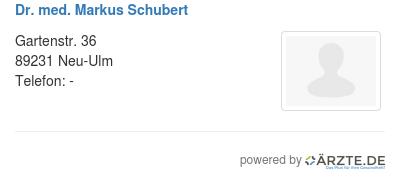 Dr med markus schubert 579208
