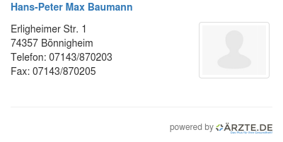 Hans peter max baumann