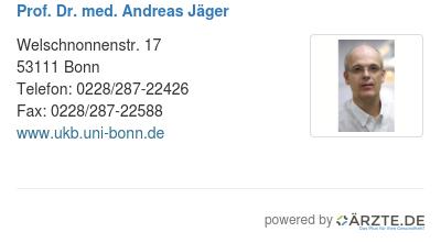 Prof Dr Med Andreas Jäger In 53111 Bonn Fachzahnarzt Für