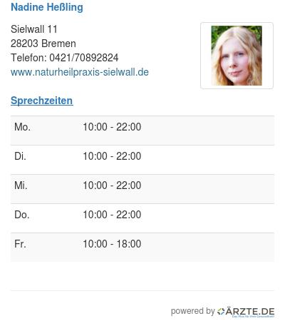Nadine hessling