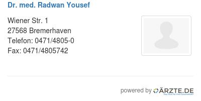 Dr med radwan yousef 529403