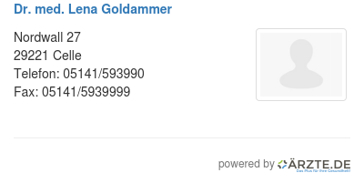 Dr med lena goldammer 580174