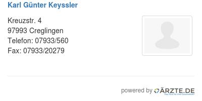 Karl guenter keyssler