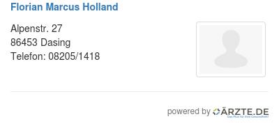 Florian marcus holland