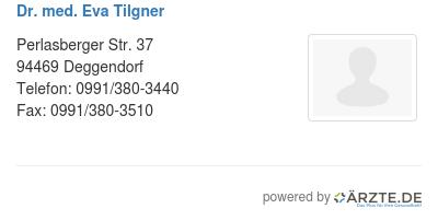 Dr med eva tilgner 425356