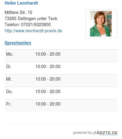 Heike leonhardt