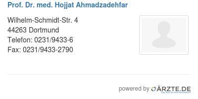 Prof dr med hojjat ahmadzadehfar 588117