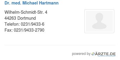 Dr med michael hartmann 579681