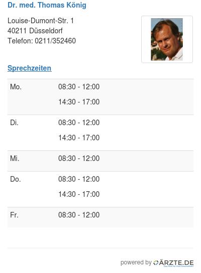 Dr med thomas koenig 253663
