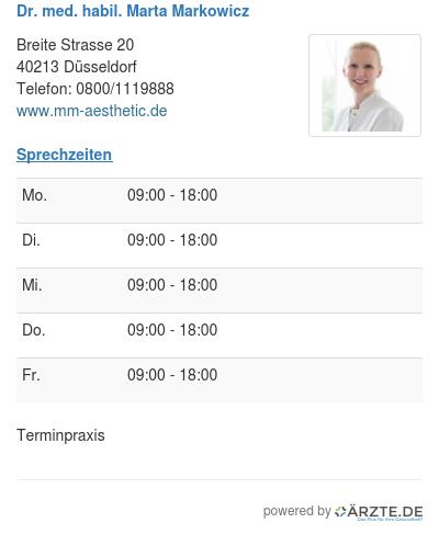 Dr med habil marta markowicz