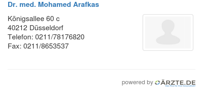 Dr med mohamed arafkas 579259