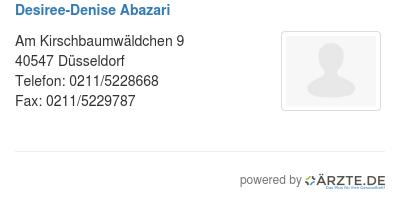 Desiree denise abazari