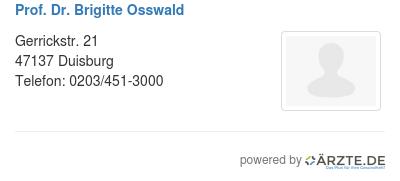 Prof dr brigitte osswald 580076