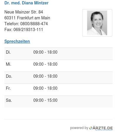 Dr med diana mintzer 248824