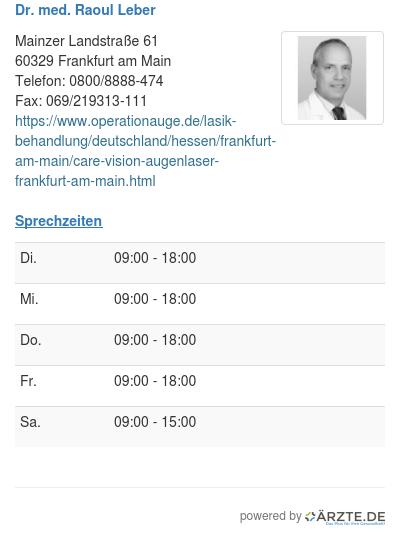 Dr med raoul leber 248824