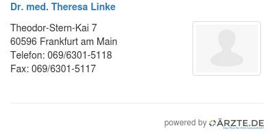 Dr med theresa linke