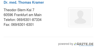 Dr med thomas kramer 579332