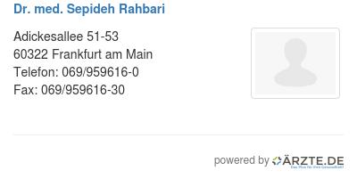 Dr med sepideh rahbari 529425