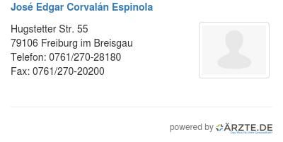 Jose edgar corvalan espinola