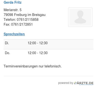Gerda fritz