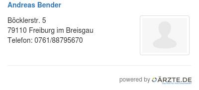 Andreas bender 425870