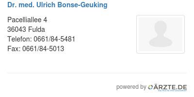 Dr med ulrich bonse geuking 545846