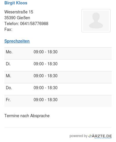 Birgit kloos 251340