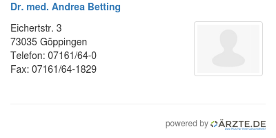 Dr med andrea betting