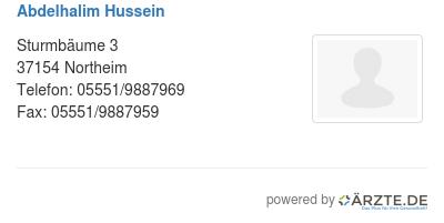 Abdelhalim Hussein In 37075 Göttingen Fa Für Neurochirurgie