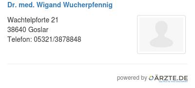 Dr med wigand wucherpfennig 579636