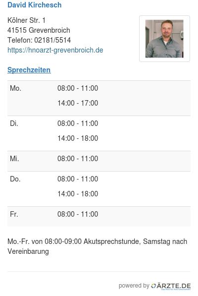 David kirchesch