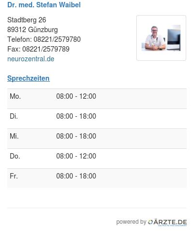 Dr med stefan waibel 495326