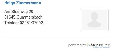 Helga zimmermann 522758