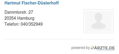 Hartmut fischer duesterhoff