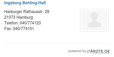 Ingeborg behling hass