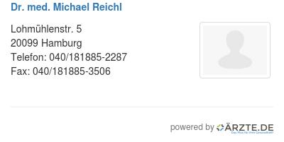 Dr med michael reichl 522664