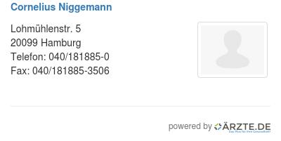 Cornelius niggemann