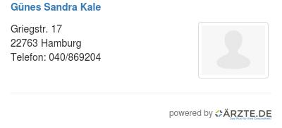 Guenes sandra kale