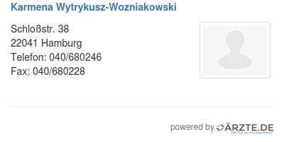 Karmena wytrykusz wozniakowski